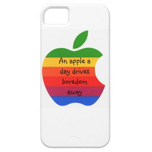 An Apple a Day - iPhone Case iPhone 5 Case