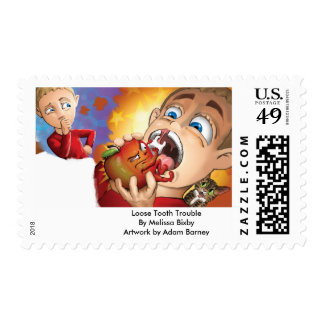 An Apple a Day...Keeps Loose Tooth Troubles Away! Postage