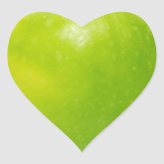 an apple a day keeps the doctor at bay heart sticker