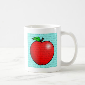 An Apple A Day Keeps The Doctor Away Coffee Mug