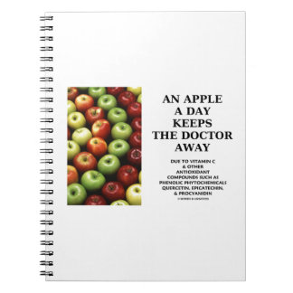 An Apple A Day Keeps The Doctor Away (Food Humor) Notebook