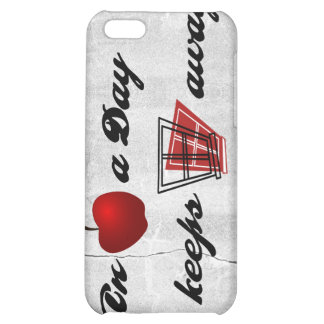 An apple a day keeps windows away cover for iPhone 5C