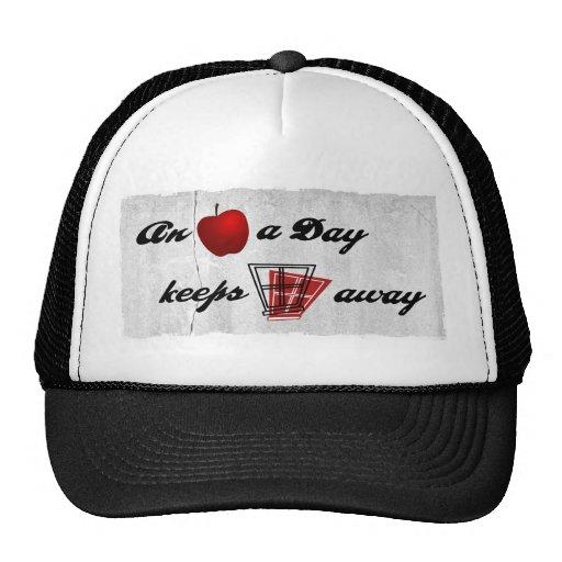 An apple a day keeps windows away trucker hat