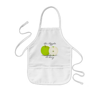 An Apple A Day Kids' Apron