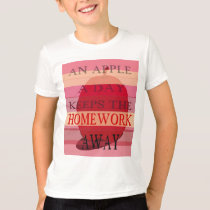 An Apple a Day Kids' T-Shirt