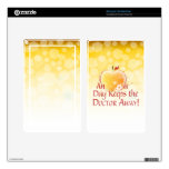 An Apple a Day Kindle Fire Decals