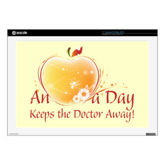 An Apple a Day Laptop Skins