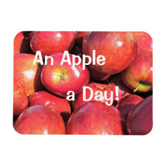 An Apple a Day! Magnet