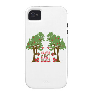 An Apple A Day Makes Great Pie Case For The iPhone 4
