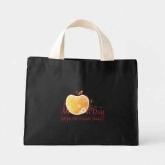 An Apple a Day Mini Tote Bag