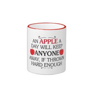 An apple a day - mug