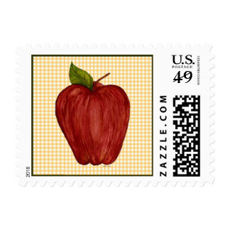 An Apple A Day Postage Stamp