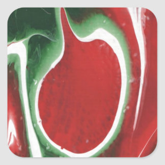An Apple a Day Square Sticker