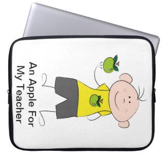 An Apple For My Teacher 15 inch laptop cover