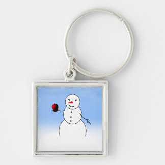 An Apple for the Teacher from Little Snowman Keychains