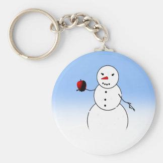 An Apple for the Teacher from Little Snowman Keychain