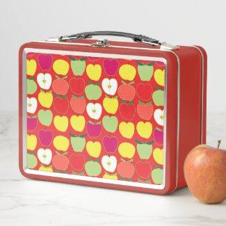 An Apple For The Teacher Metal Lunch Box