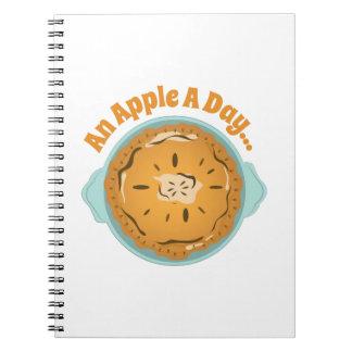 An Apple Spiral Notebooks