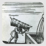 An apprentice fetching water from a fountain sticker
