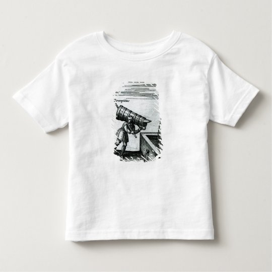 An apprentice fetching water from a fountain toddler t-shirt