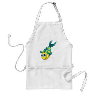 An aquatic fish adult apron