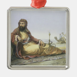 An Arab Resting in the Desert, title page from 'Th Christmas Tree Ornaments