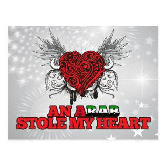 An Arab Stole my Heart Postcard
