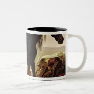 An Arabian Horse Two-Tone Coffee Mug