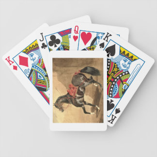 An Arabian Horse (w/c laid down on paper) Bicycle Playing Cards