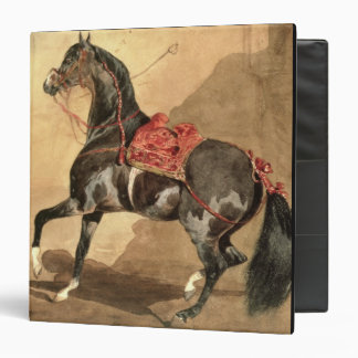 An Arabian Horse (w/c laid down on paper) Binder