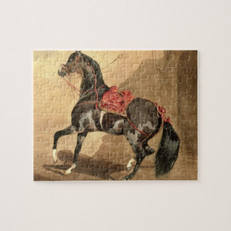 An Arabian Horse (w/c laid down on paper) Jigsaw Puzzle