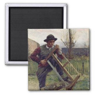 An Aragonese Woodcutter, 1876 Magnet