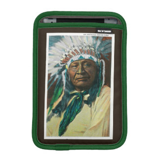 An Arapahoe Indian Chief PortraitColorado iPad Mini Sleeve