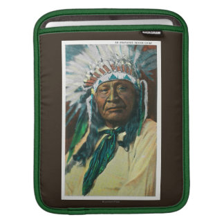 An Arapahoe Indian Chief PortraitColorado Sleeve For iPads