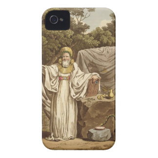 An Arch Druid in his Judicial Habit, engraved by R iPhone 4 Case