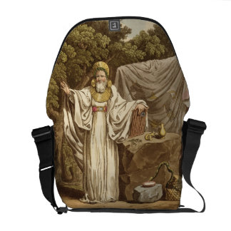An Arch Druid in his Judicial Habit, engraved by R Messenger Bag