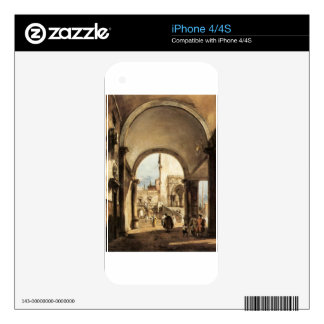 An Architectural Caprice by Francesco Guardi Skin For The iPhone 4S