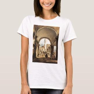 An Architectural Caprice by Francesco Guardi T-Shirt