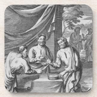An Argument Between Cartographers, illustration fr Coaster