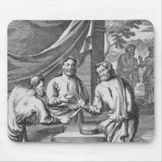 An Argument Between Cartographers, illustration fr Mouse Pad