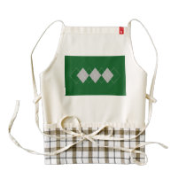 An Argyle Pattern 2 Zazzle HEART Apron