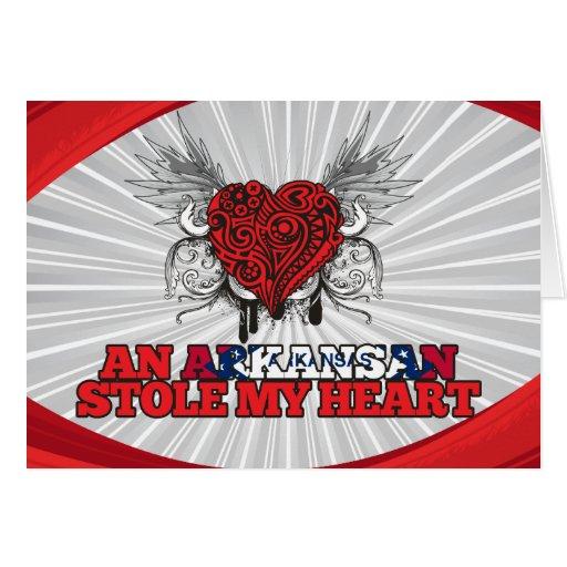 An Arkansan Stole my Heart Cards
