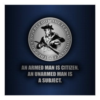 An Armed Citizen Posters