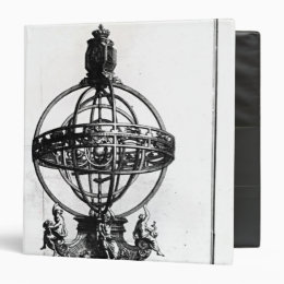 An Armillary Sphere of the Copernican System Binder