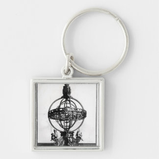 An Armillary Sphere of the Copernican System Keychain