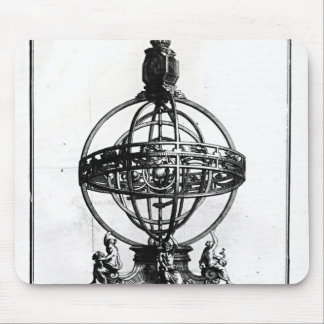 An Armillary Sphere of the Copernican System Mouse Pad