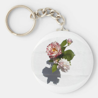 An Arrangement of Roses Keychain