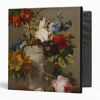 An Arrangement with Flowers, 19th century 3 Ring Binder