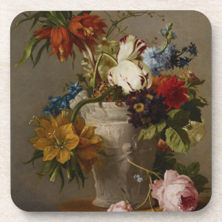 An Arrangement with Flowers, 19th century Coasters
