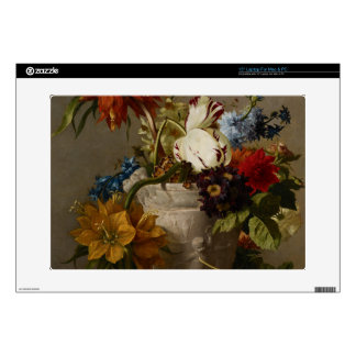 An Arrangement with Flowers, 19th century Laptop Skin
